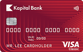 Visa Classic - Kapital Bank