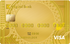 Visa Trio Gold - Kapital Bank